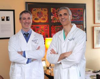 Dr. Greenfield and Dr. Souweidane