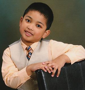 Joshua Bembo Age 6